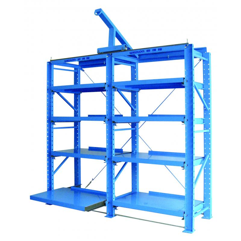 The Drawer Type Mold Rack is major for placing platic mold for convenience.