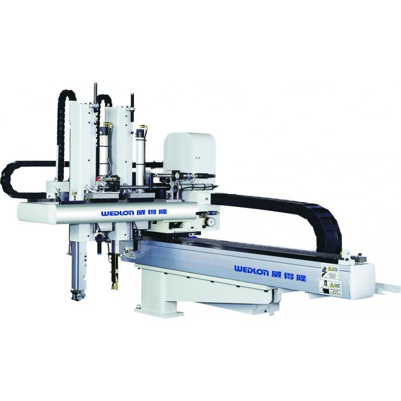 塑膠射出成型取出機 , 小型伺服橫走式機械手臂, 伺服橫走式機械手臂, 橫走式機械手臂