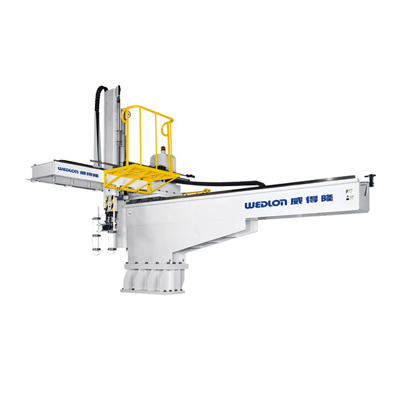 大型横走行式ロボットアーム、制御システムは完全にCE、SPIとEUROMAPの国際完全規範に符合し、全世界射出機電子制御システムを完全に通用できます。